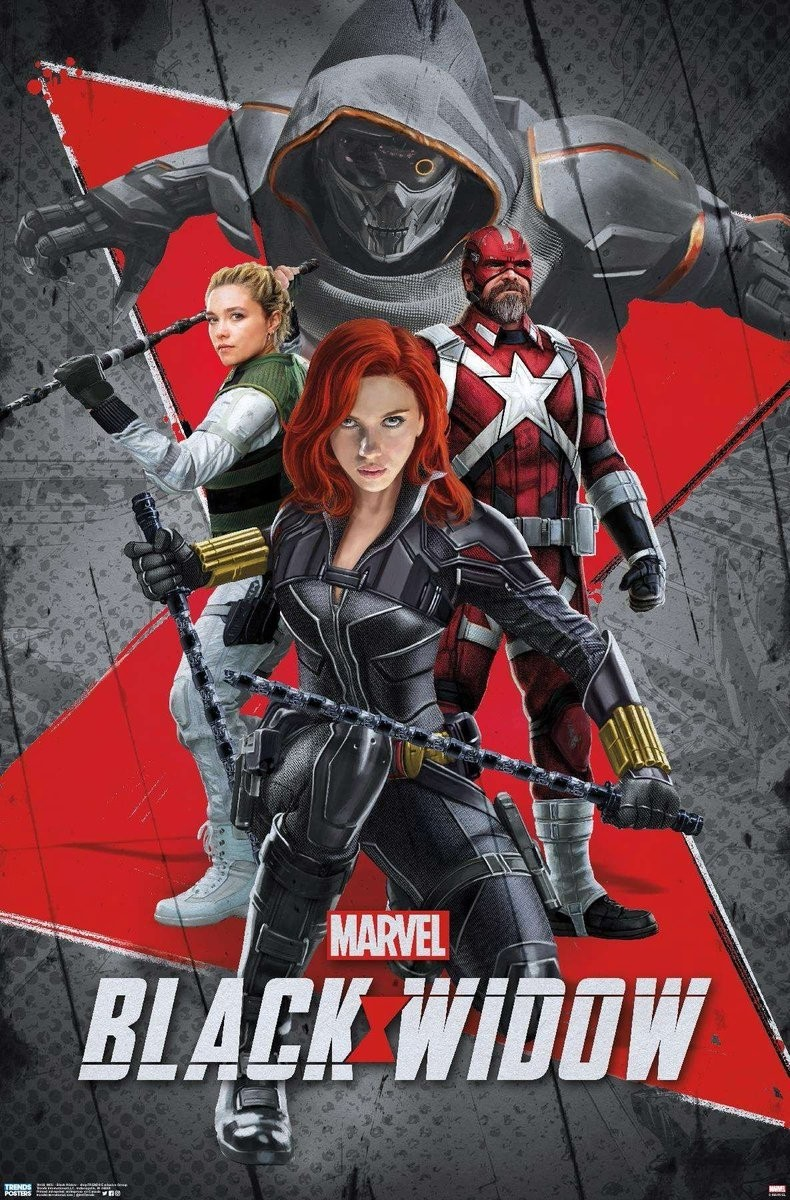 Marvel's Black Widow gets five new promotional posters