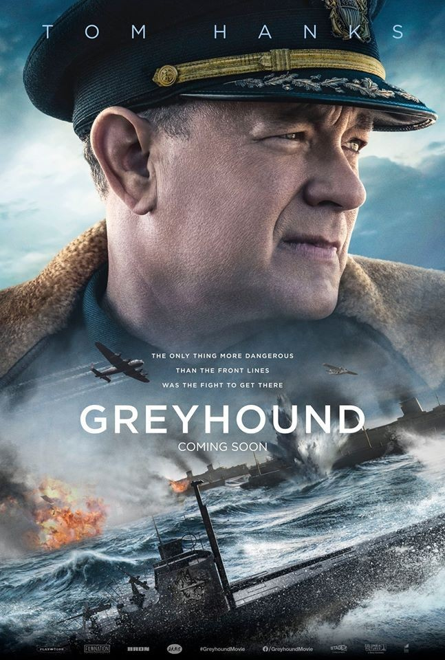 New poster for Greyhound featuring Tom Hanks