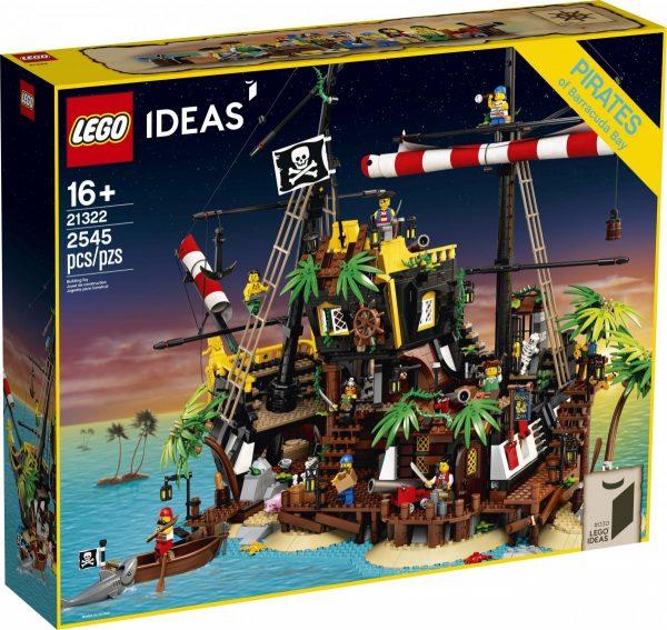 Lego Ideas Pirates Of Barracuda Bay Set Officially Unveiled