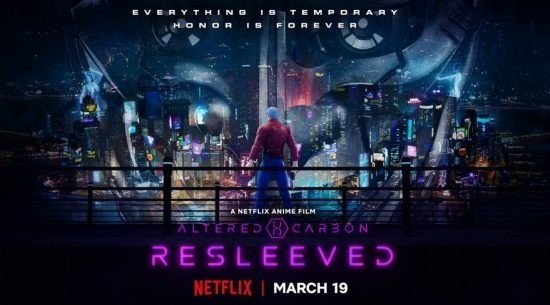 Netflix Releases Trailer For Altered Carbon Resleeved Anime Feature