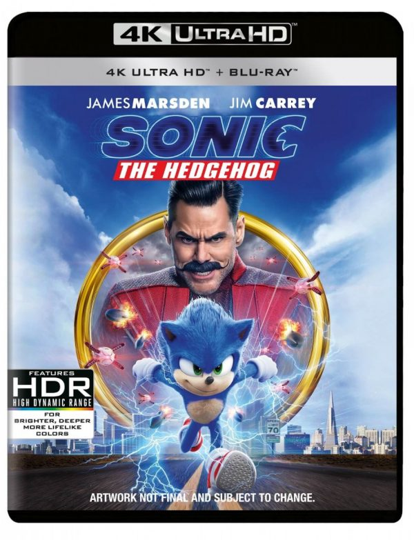 Sonic The Hedgehog Gets Early Digital Release Special Features