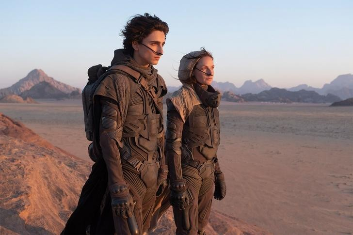 Dune could be the next Lord of the Rings says art director