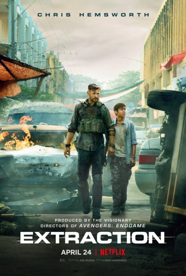 Chris Hemsworth Featured On New Poster For Extraction