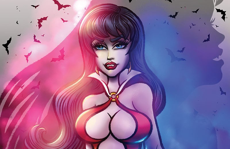 Dynamite announces limited edition Vampirella variant from That Star Wars Girl