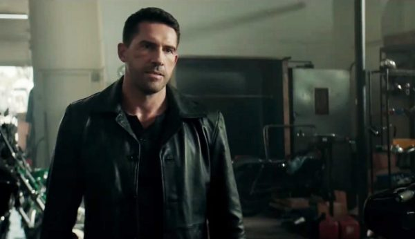 Watch an exclusive clip from Debt Collectors starring Scott Adkins