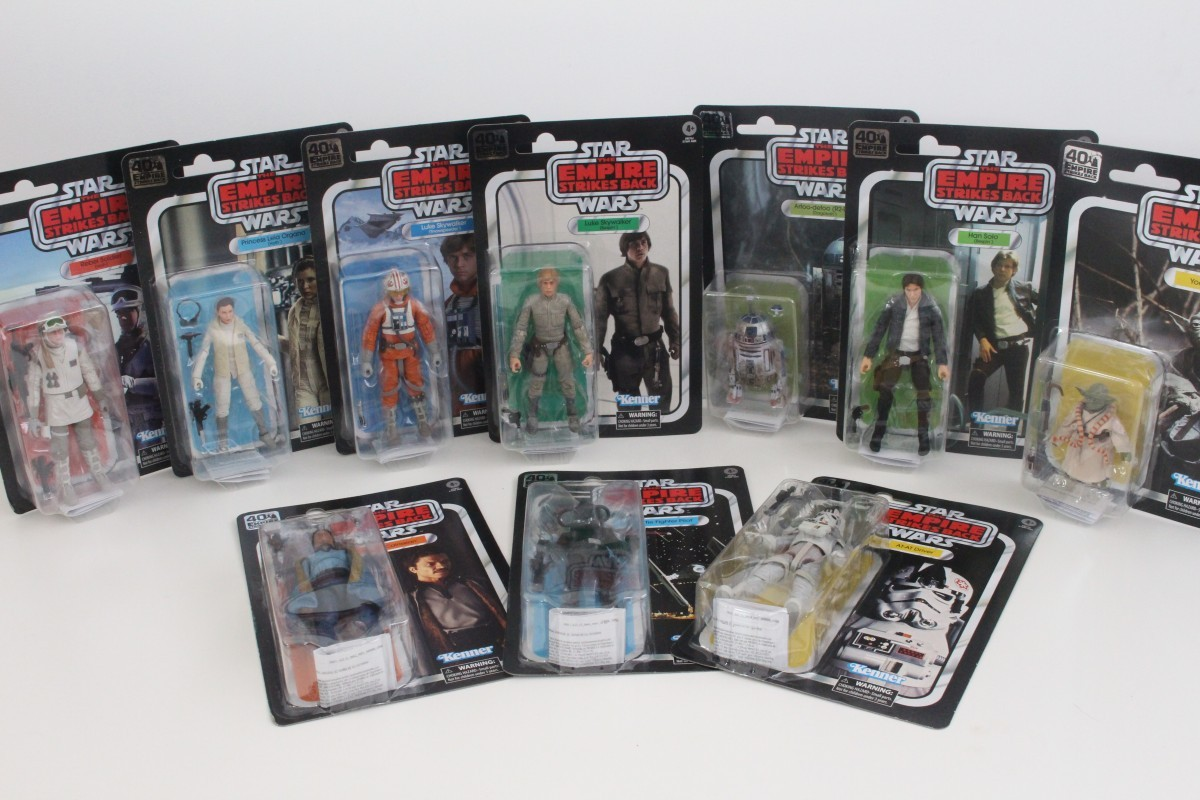 Hasbro Celebrates The 40th Anniversary Of Star Wars The Empire Strikes Back With The Black Series Figures