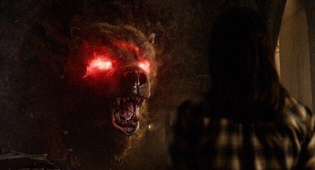 The New Mutants concept art features unused Demon Bear designs