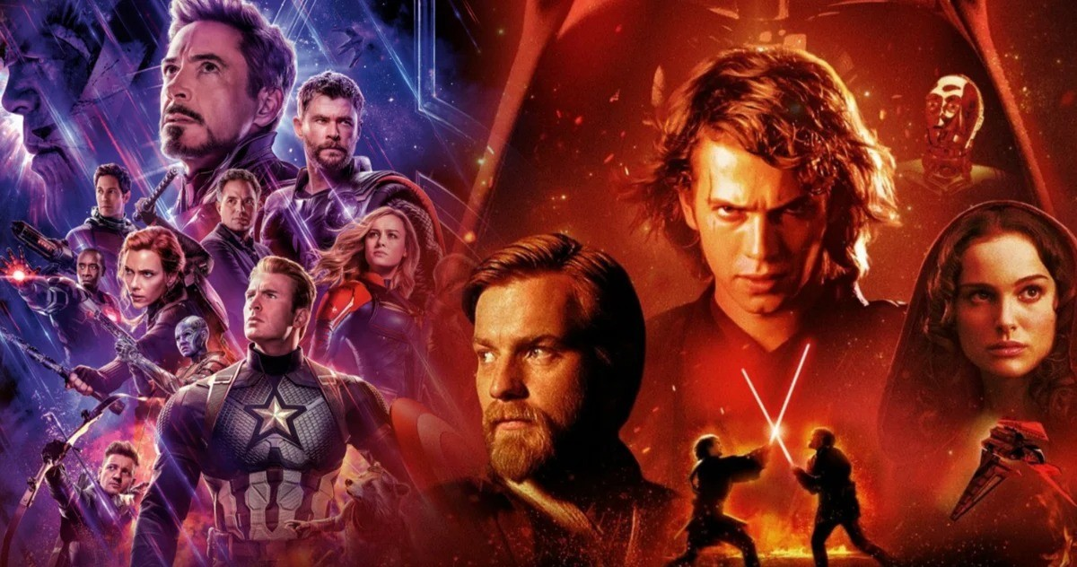 Star Wars Revenge Of The Sith Destroys Avengers Endgame In Rotten Tomatoes Blockbuster Fan Poll