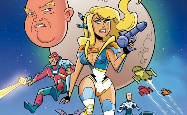 Star Trek meets Stripperella in Stormy Daniels: Space Force comic book and animated series