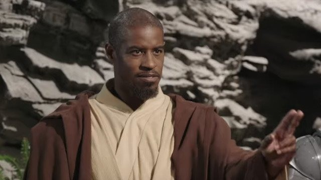 Ahmed Best describes his new Jedi character in Star Wars: Jedi Temple Challenge