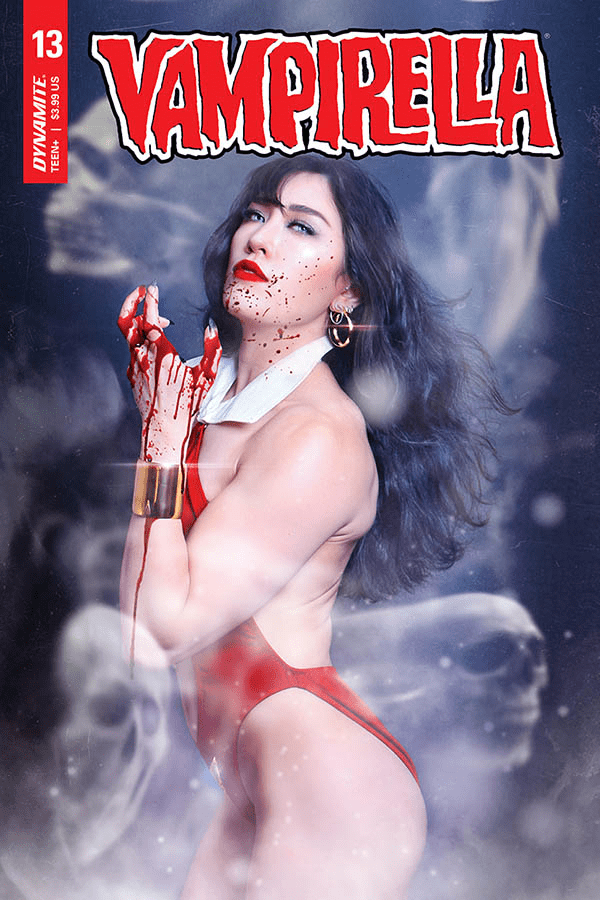 Dynamite unveils Red Sonja and Vampirella cosplay covers for August 2020