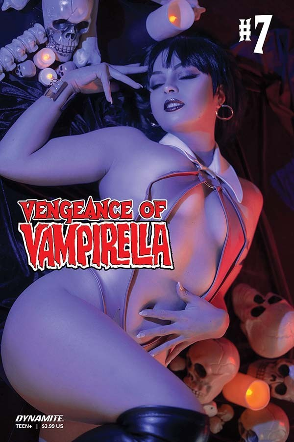 Comic Book Preview – Vengeance of Vampirella #7
