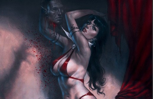 Vampirella gets a Lucio Parrillo limited edition variant cover