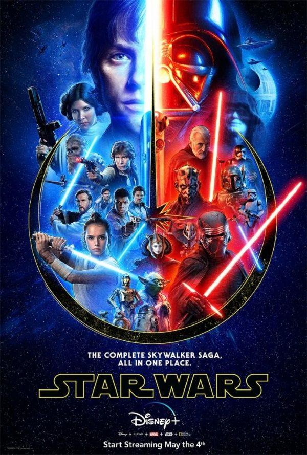 Disney Releases New Skywalker Saga Poster For Star Wars Day