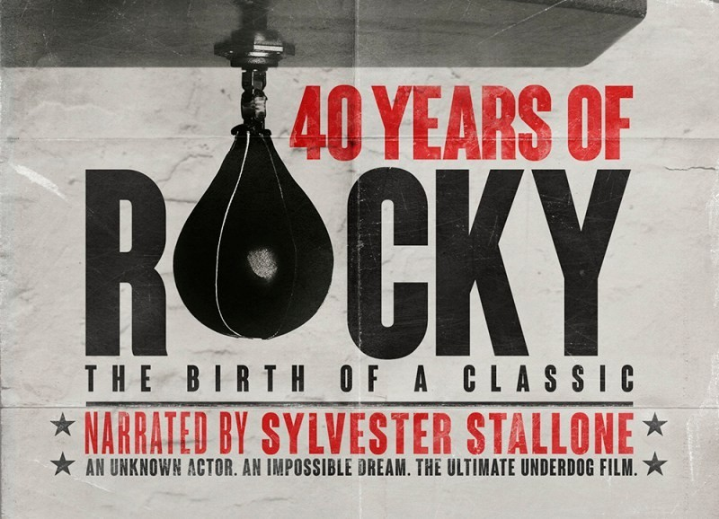 Trailer for Sylvester Stallone-narrated documentary 40 Years of Rocky: The Birth of a Classic