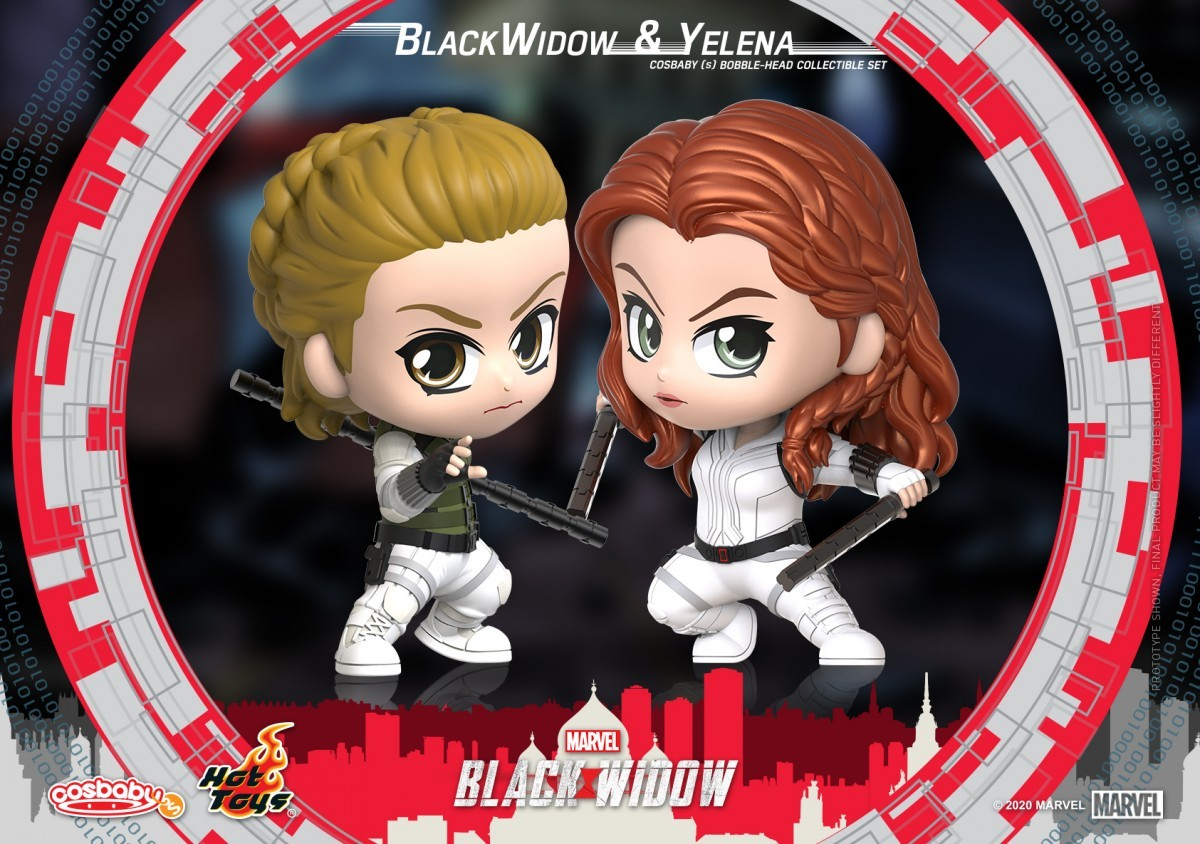 Marvel S Black Widow Gets A Wave Of Cosbaby Collectibles From Hot Toys