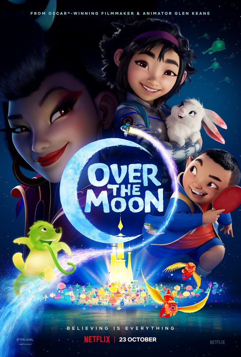 Netflix animated feature Over the Moon gets new trailer and poster
