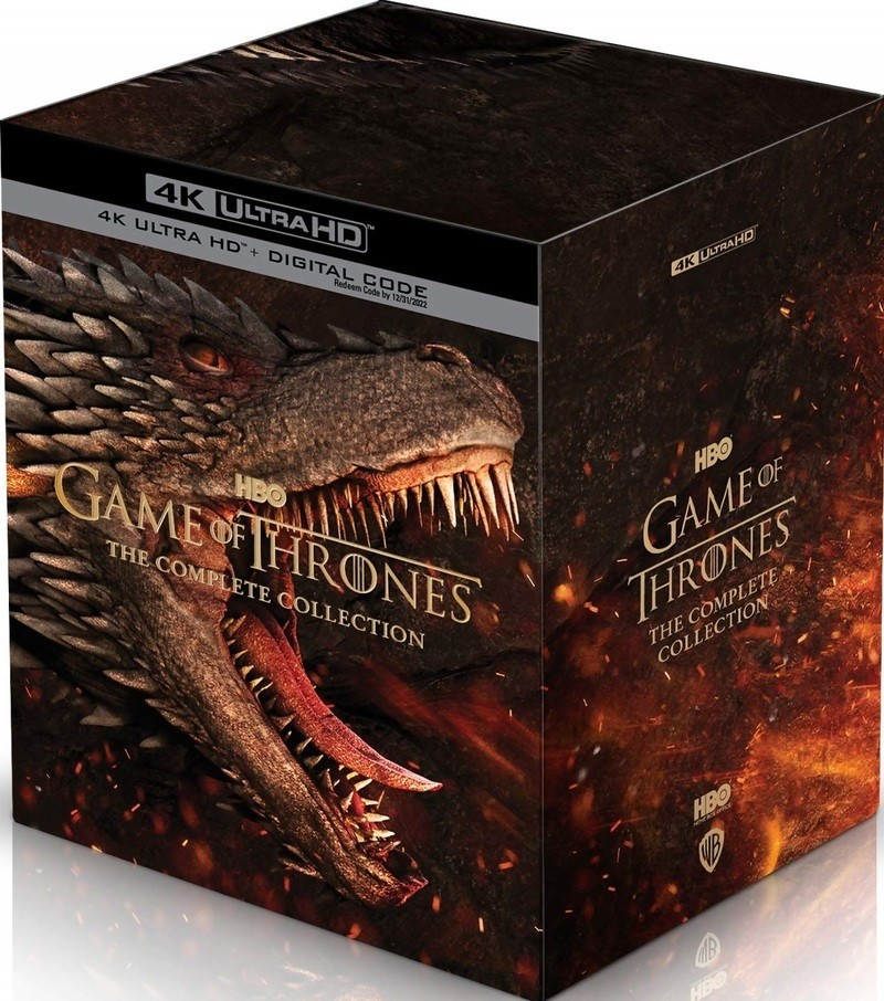 Game of Thrones: The Complete Collection 4K release announced
