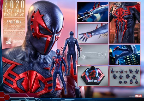 Hot-Toys-MSM-Spider-Man-Spider-Man-2099-Black-Suit-collectible-figure_PR20-600x422