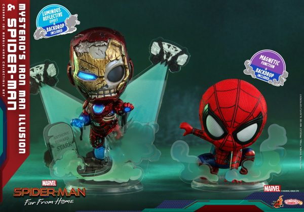 Hot-Toys-SMFFH-Mysterios-Iron-Man-Illusion-and-Spider-Man-Cosbaby_PR1-600x420