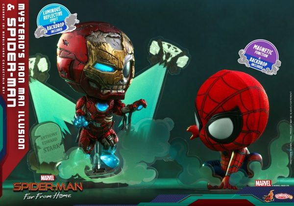 Hot-Toys-SMFFH-Mysterios-Iron-Man-Illusion-and-Spider-Man-Cosbaby_PR2-600x420
