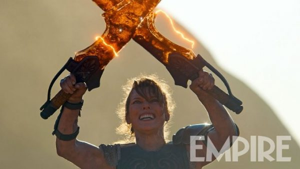 Milla Jovovich Wields Dual Blades In New Monster Hunter Image