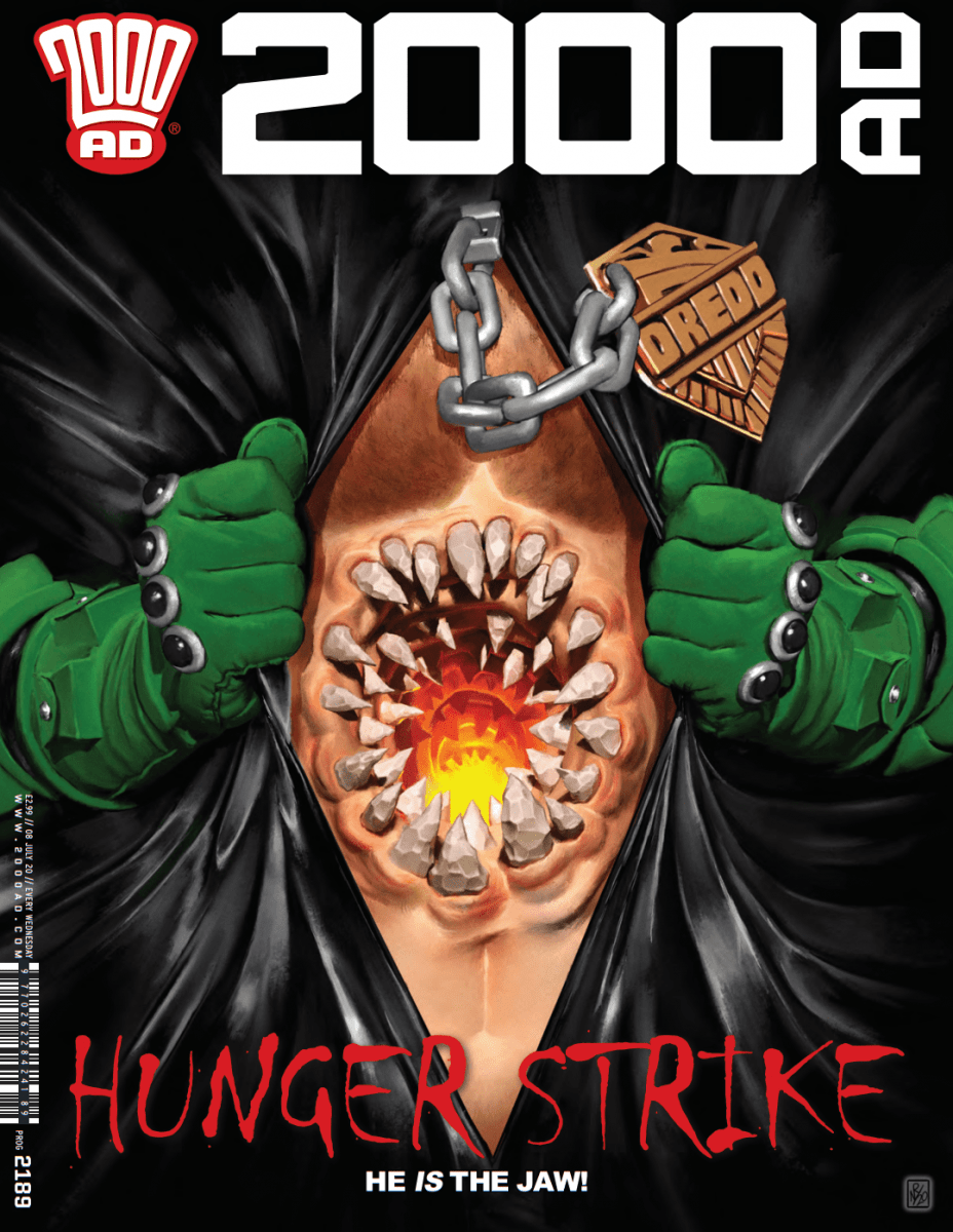 Comic Book Review – 2000 AD Prog 2189