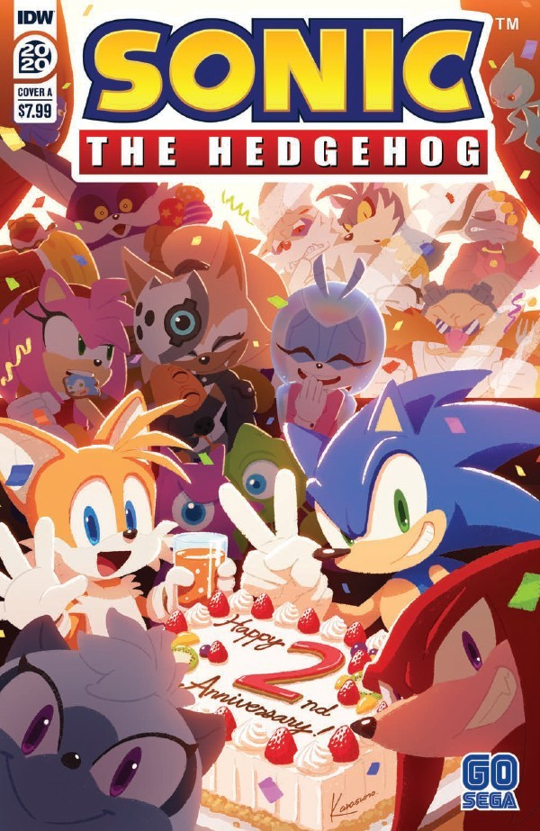 Comic Book Preview Sonic The Hedgehog Annual 2020