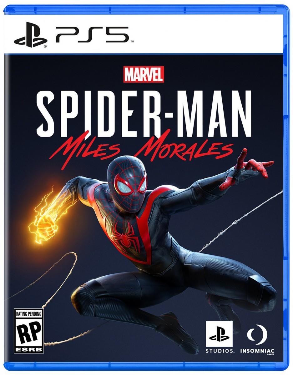 Spider-Man: Miles Morales PS5 cover art revealed - Flipboard