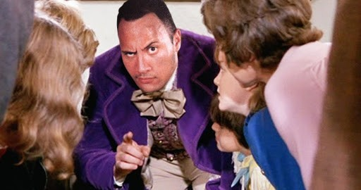the-rock-willy-wonka