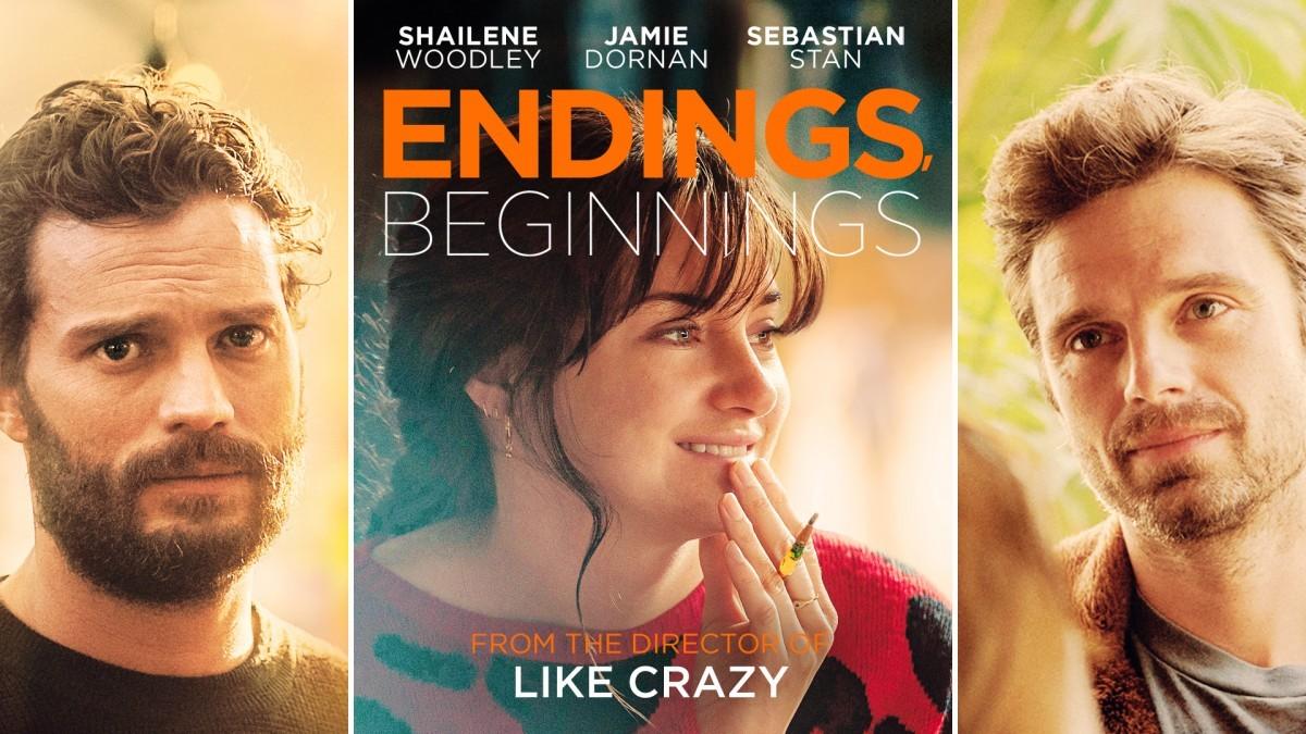 UK trailer for Endings, Beginnings starring Shailene Woodley, Jamie Dornan and Sebastian Stan