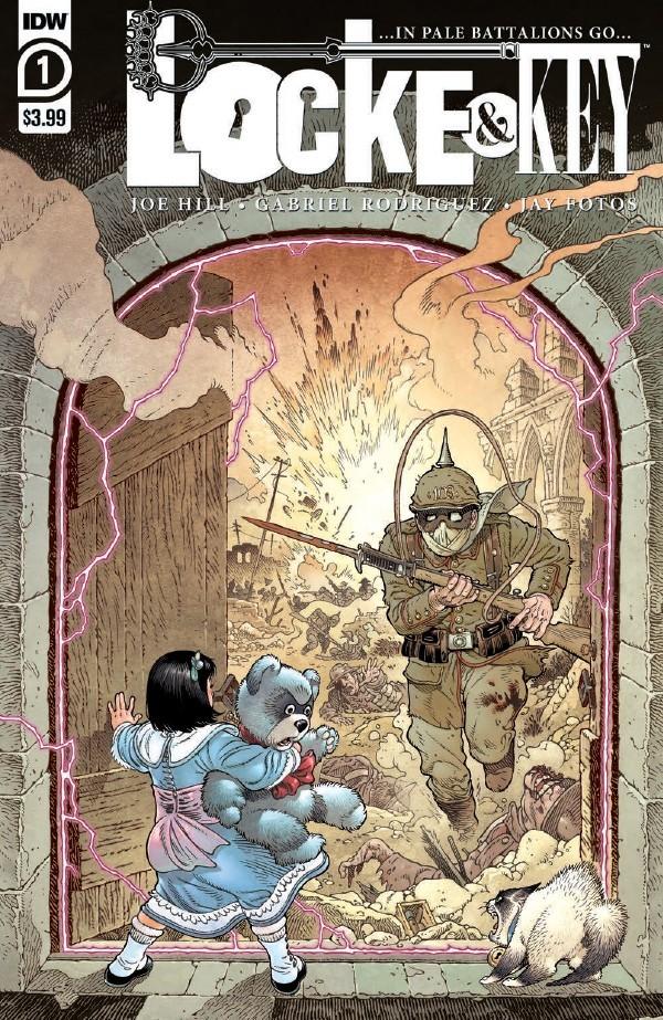 Comic Book Preview - Locke & Key: …In Pale Battalions Go… #1