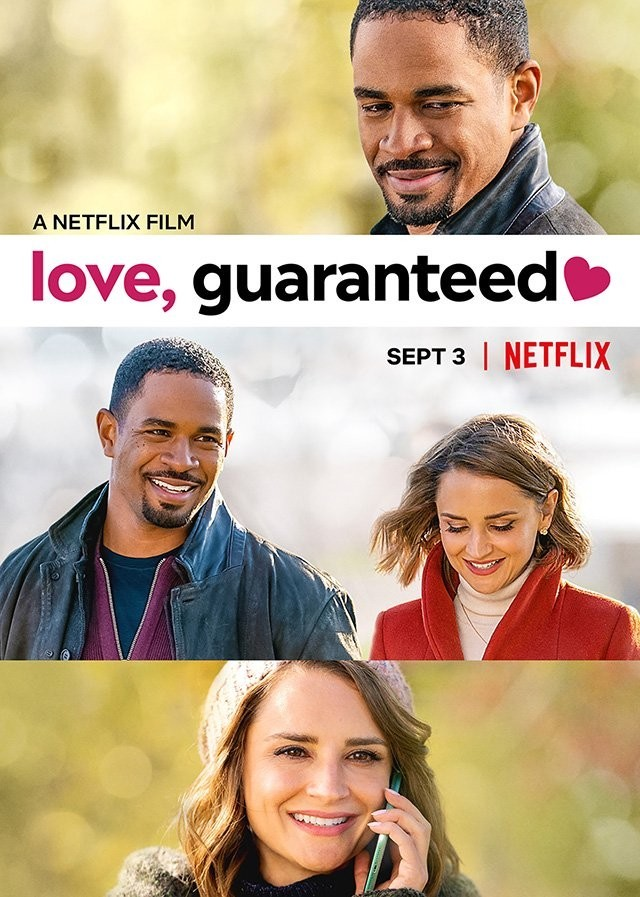 Trailer for Netflix rom-com Love, Guaranteed starring Rachael Leigh Cook and Damon Wayans Jr.