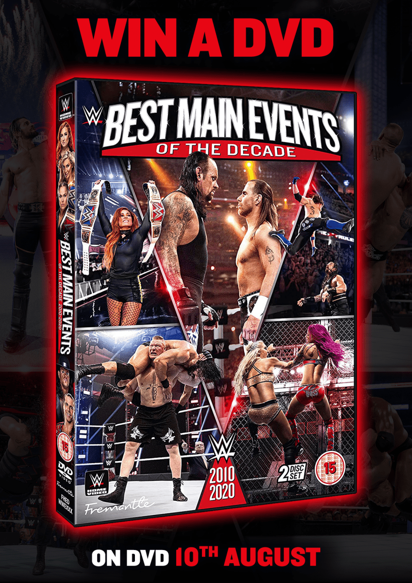 Giveaway – Win WWE Best Main Events of the Decade