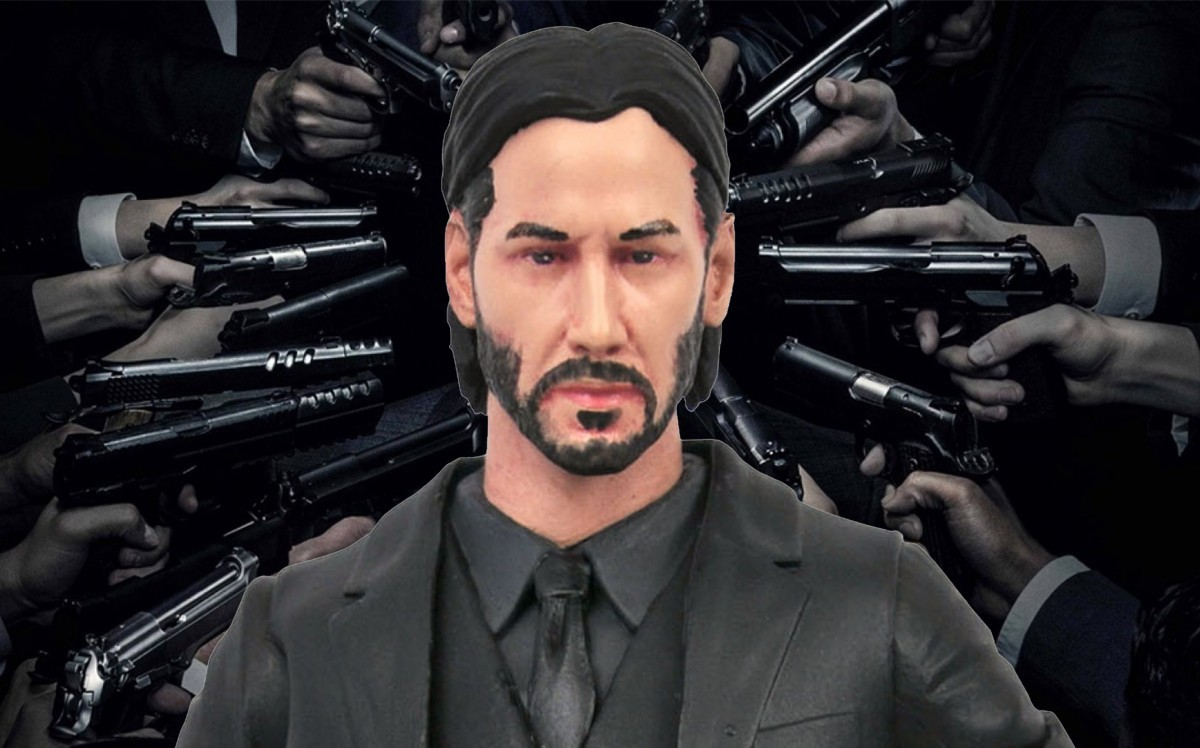 John Wick gets a new Deluxe Action Figure Box Set from Diamond Select Toys