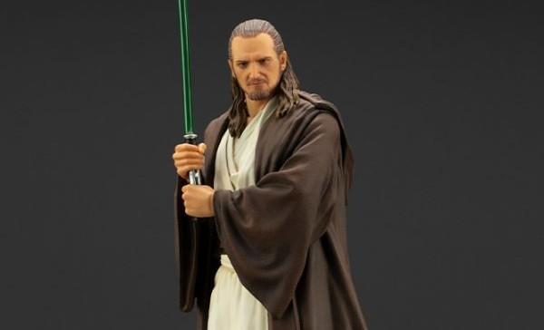 Kotobukiya's Star Wars: Episode I – The Phantom Menace Qui-Gon Jinn ARTFX+ statue available for pre-order