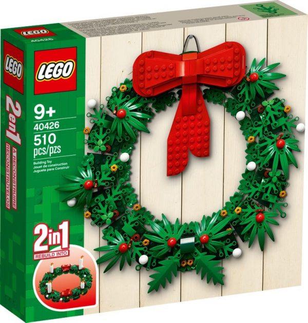 LEGO-Seasonal-Christmas-Wreath-2-in-1-40426-600x629