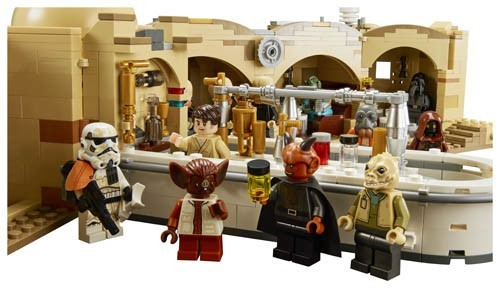 3,187-piece LEGO Star Wars Mos Eisley Cantina set releasing this month