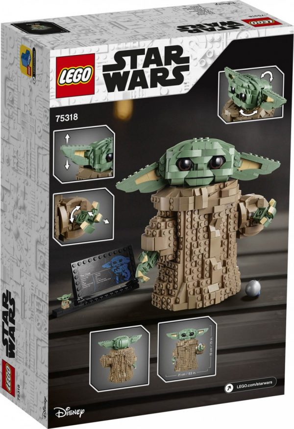 LEGO Star Wars The Child buildable set officially revealed