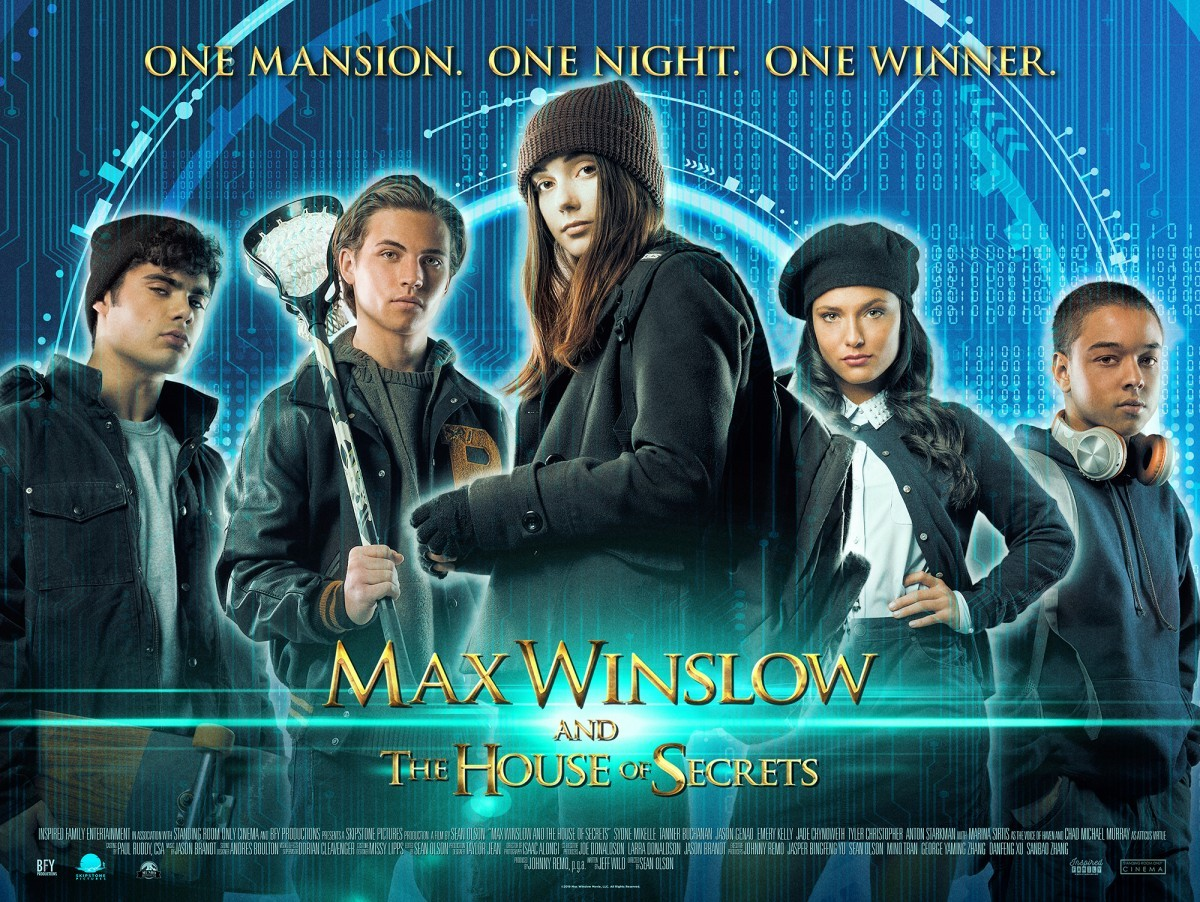 Movie Review – Max Winslow and the House of Secrets (2019)