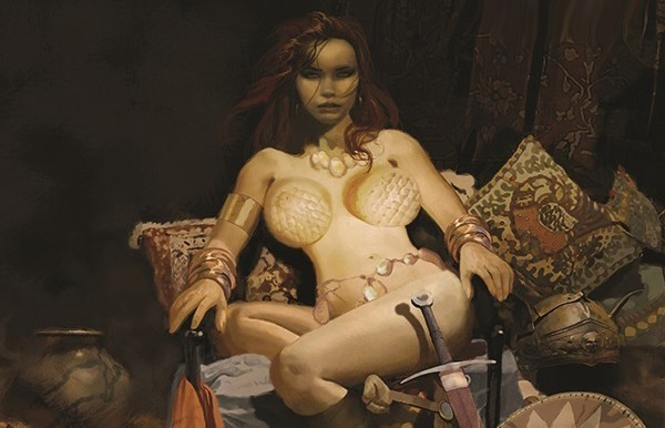Dynamite announces Red Sonja: The Price of Blood