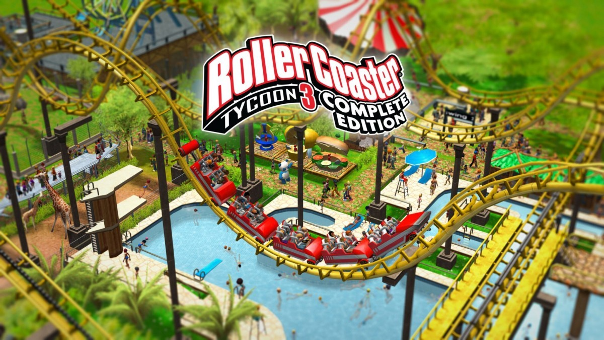 RollerCoaster Tycoon 3: Complete Edition out now on Nintendo Switch and PC