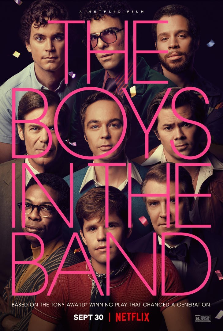 Netflix's The Boys in the Band gets a poster