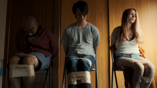 Japanese horror Tokyo Home Stay Massacre gets a bloody trailer, poster and images