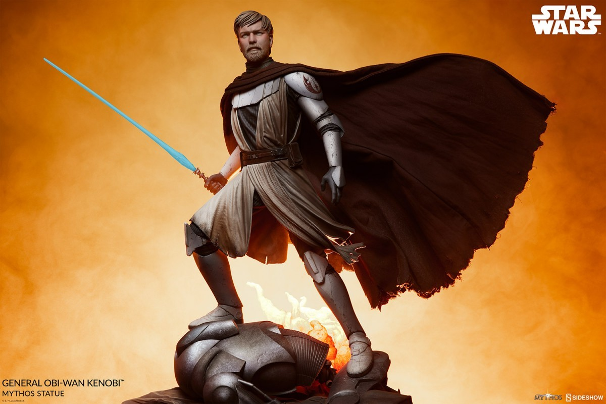 Sideshow's General Obi-Wan Kenobi Star Wars Mythos statue revealed