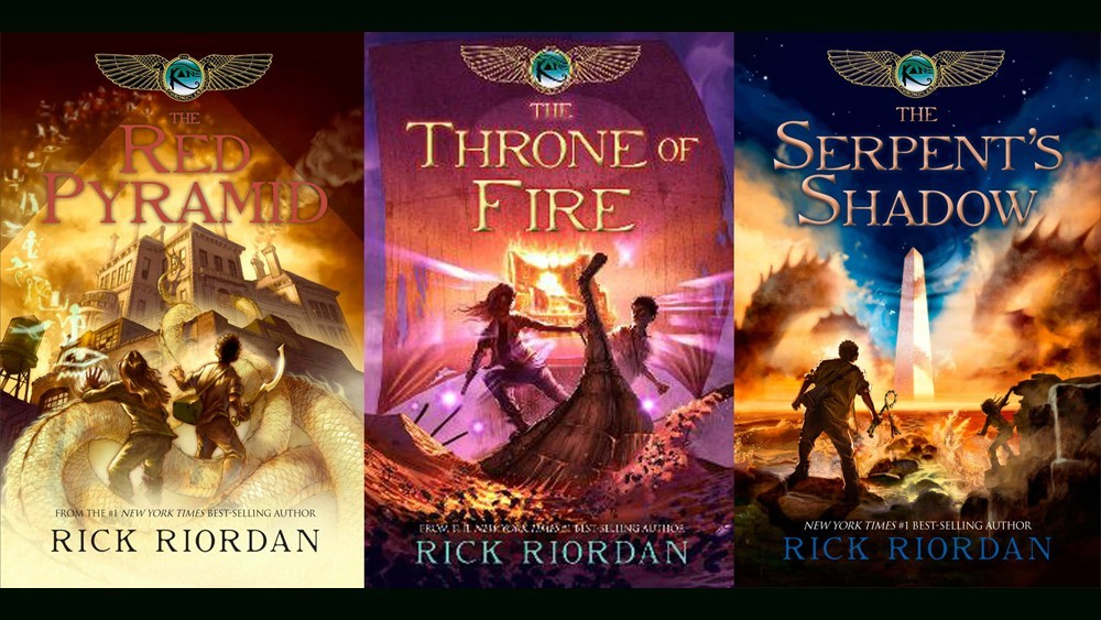 Rick Riordan's The Kane Chronicles books being developed into feature films at Netflix