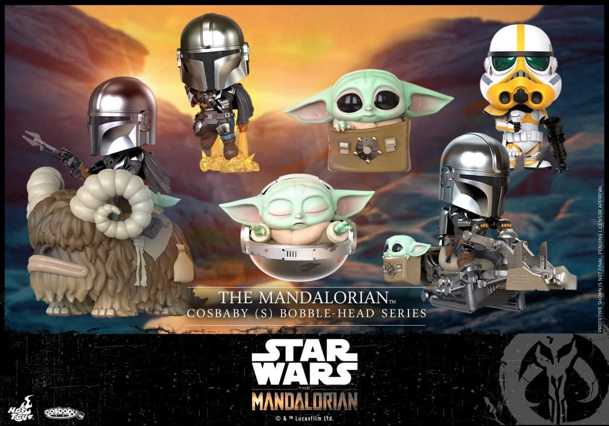 The Mandalorian Joins Hot Toys Star Wars Cosbaby Line