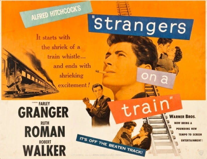 Hitchcock's Strangers on a Train is getting a teen reimagining at Netflix
