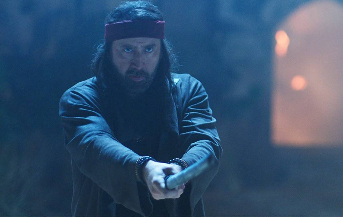 Nicolas Cage leads a team of martial artists against alien invaders