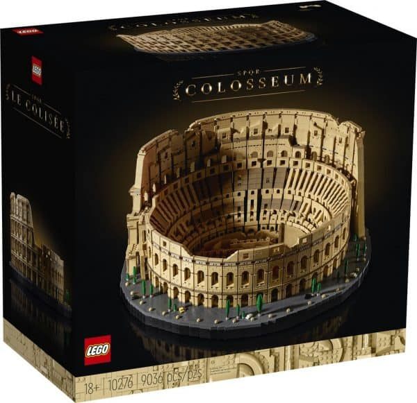 Behold the majesty of LEGO's largest ever set, the Roman ...